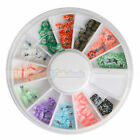 Multi-color Butterfly Wheel Tips Nail Art Decoration Manicure