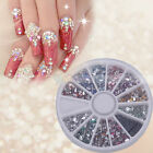 1800X2mm Nail Art Rhinestone Water drop Shapes Glitters Tips Manicure Deco Wheel