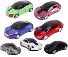 7 Color Change 2.4G Car Shape Wireless Optical Mouse For PC Laptop/Note New