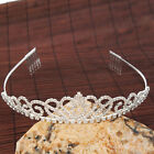 Wedding Bridal Jewelry Rhinestone Copper Crown Headband Hair Accessories Tiaras