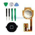 Replacement Home Button Flex Cable + black Keypad Cap For iPhone 3GS