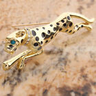 Popular Unique Stylish Golden Cheetah Pin Brooch