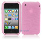 New Silicone Sillicon Case for iPhone 3G 3GS Pink