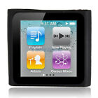 New Silicone Skin Case Cover for iPod Nano 6 Black