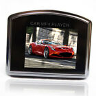 "2GB 1.8"" LCD Car MP4 Player FM Transmitter Support SD Card +Remote Control Black"