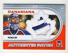 Patrick Roy 2011 ITG Canadiana Authentic Patch Silver Limited Card #AP-16 9 (1)