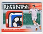 Marco Pappa 2011 UD SP Game Used Soccer Supreme Fabrics Logo Patch Card 07 15