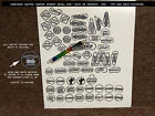 CACTUS CANYON Pinball Machine Insert Decals LICENSED