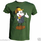 Mens Disney Mickey Mouse Horse Race Riding T Shirt XS S M  XL Official Licensed