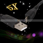 5x Black Micro USB Data Charger Cable for LG Optimus 2X P970 P990 3G