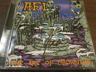 AFI  the art of drowning cd SIGNED BY THE BAND NITRO