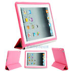 Slim Magnetic Smart Cover PU Leather Stand Wake Up/Sleep Case for iPad 2 3 Pick