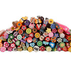 New 100pcs Cute 3D Nail Art FIMO Canes Rods Decoration Multi-color