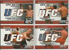 Rich Franklin Cards and Autographed Memorabilia Guide 15