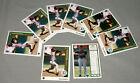 1989 Upper Deck Tom Glavine Lot Of 8 MLB Baseball First Year Cards #360