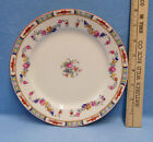 Vintage Floral China Crescent Ivory Plate George Jones & Sons England Rosedale