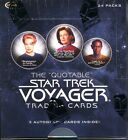 The Quotable Star Trek Voyager Trading Card Box MINT 3 Autographs inside