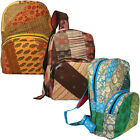 Handmade Recycled Pathwork Backpacks Produced in India  Fair Trade