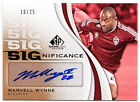 Marvell Wynne 2011 Upper Deck UD SP Game Used Soccer SIGnificance AUTO 10 25