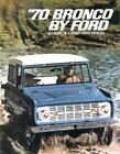 BRONCO 1970 Sales Brochure 70