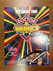 Original Bally Doctor Who Pinball Advertising Flyer