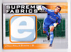 Tally Hall 2011 UD SP Game Used Soccer Supreme Fabrics Logo Patch Card SP 07 15