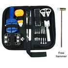 Watch Repair Tool Kit Case Opener Link Remover Spring Bar Tool - Carrying Case