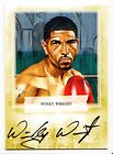 Winky Wright 2011 Ringside Boxing Round 2 Autographed Gold Card 10 #A-WW1