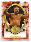 Ray Mercer 2011 Ringside Boxing Round 2 Victorious Gold Base Card 9 #199