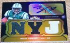2011 TOPPS TRIPLE THREADS #106 BILAL POWELL AUTO JERSEY #d 25 NY JETS ROOKIE RC