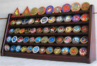 5 Row Military Challenge-Casino Coin Display Rack Case Cabinet Stand:  Coin5-MAH