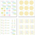 BABY Rub Ons SWATCH PACK scrapbooking CARDMAKING Announcement Invite