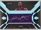 2007-08 UD Black KOBE BRYANT STEVE NASH Dual Auto Patch Card #d 3 15