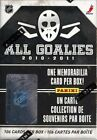 2010 11 PANINI ALL GOALIES HOCKEY BOX SET [20 BOX CASE]