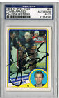 1984-85 O-Pee-Chee Tom Barrasso Autographed Rookie Card RC #18 PSA DNA Sabres