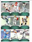 67 Different 2010 Topps Triple Threads Baseball Emerald Parallel Card Lot 240