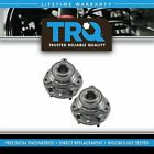 TRQ Front Wheel Hubs  Bearings Pair Set of 2 NEW for Chevy GMC Olds 4WD 4x4
