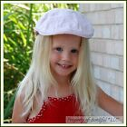 BonEful RTS NEW Boutique Pageant Cotton Light Pink Eyelet Golf GIRL Sport 6 HAT