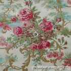 BonEful FABRIC FQ Cotton Robyn Pandolph VTG Victorian Cottage Rose Flower Toile