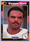 1992  WARREN MOON - Kenner Starting Lineup Card - HOUSTON OILERS