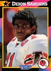 1992  DEION SANDERS - Kenner Starting Lineup Card - ATLANTA FALCONS