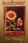 SUNFLOWER Art Quilt Pattern by TONI WHITNEY wildflowers autumn