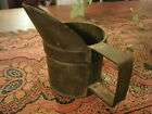 Antique Primitive Serving Cup with Spout Old European Metal Quality Piece Nice