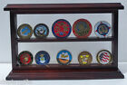Challenge Coin / Encapsulated Coin Display Stand Case, UV Protection, Coin10-MA
