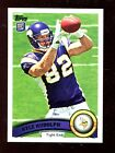 (25) 2011 Topps #6 Kyle Rudolph RC Rookie Vikings Football Cards Lot MINT