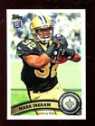(25) 2011 Topps #426 Mark Ingram RC Rookie New Orleans Saints Football Cards Lot