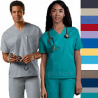 Cherokee Workwear Scrubs Shirts Unisex Men Women V Neck Tunic Top 4777 Shirt