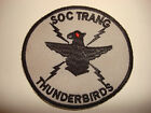 US 336th Assault Helicopter Company SOC TRANG THUNDERBIRDS Vietnam War Patch
