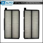 Paper Style Interior Blower Cabin Air Filter Pair Set for 99 04 Chevy Tracker