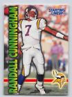 1999  RANDALL CUNNINGHAM - Kenner Starting Lineup Card - MINNESOTA VIKINGS